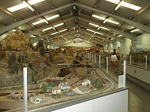 Golden State Model Railroad Museum - The interior of the museum