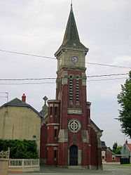 The church in Gonnelieu