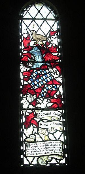 John Goodyer - Image: Goodyer window