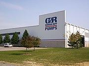 The machine shop of The Gorman-Rupp Company.