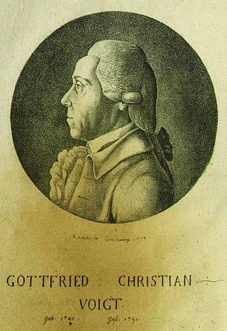 Gottfried Christian Voigt - Gottfried Christian Voigt.