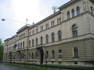 Politics of Slovenia - Presidential Palace in Ljubljana.