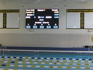 Aquatic timing system - Image: Gpspool 3022