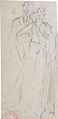 Grévin A. - Pencil - Croquis d'élégante et homme - 6.5x15cm.jpg