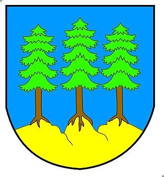 Grächen - Image: Graechen Wappen