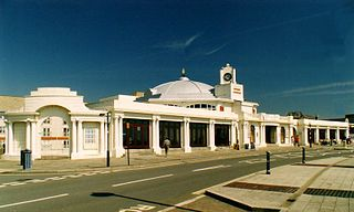 Porthcawl Town in Wales