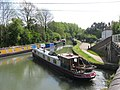 Grand Union Canal, Tring Summit, Junction with Wendover Arm - geograph.org.uk - 1515109.jpg