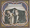 Grandes Chroniques de France - XIVème siècle - Assassinat de Sigebert Ier.jpg