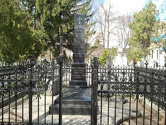 Iosif Vulcan - Vulcan's grave