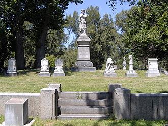 Sacramento Historic City Cemetery - Graves of the Edwin B. Crocker family