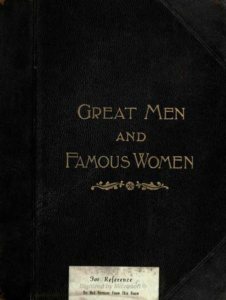 File:Great Men and Famous Women Volume 5.djvu