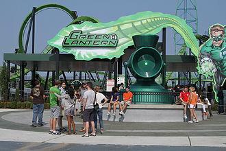 Green Lantern (Six Flags Great Adventure) - Image: Green Lantern (Six Flags Great Adventure)