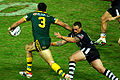 Greg Inglis and Nathan Fien (8 May 2009, Brisbane).jpg