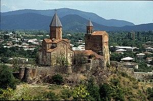 Kakheti - Gremi church in Kakheti.
