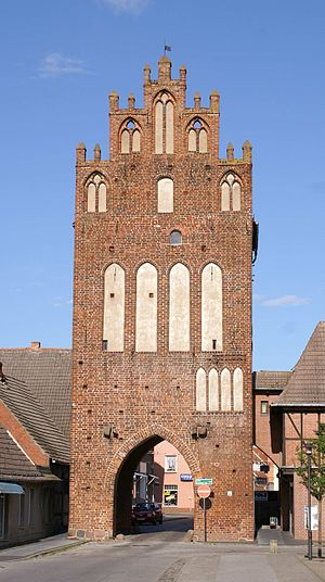 Grimmen - Mill's gate