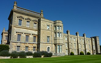Grimsthorpe Castle - West Facade of Grimsthorpe Castle