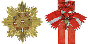 Decoration of Honour for Services to the Republic of Austria - Image: Großstern Ehrenzeichen Rep AUT combined
