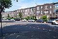 Groesbeekseweg kruising Sumatrastraat, Eclectische middenstandswoningen met elementen van Art Nouveau (Jugendstil) Galgenveld, Nijmegen.jpg