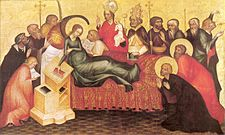 Grudziądz Polyptych-Dormition of Mary.jpg