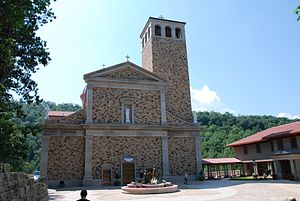 Shrine of Our Lady of Guadalupe - The Shrine of Our Lady of Guadalupe, La Crosse, Wisconsin, USA.
