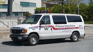 Guelph Police Service - School safety patrol vehicle of the Community Services unit