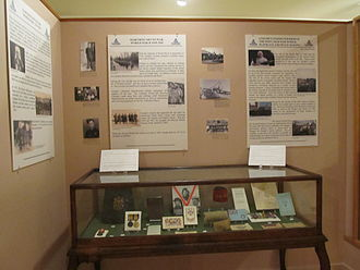 Guelph Civic Museum - World War II artifacts on display at the Guelph Civic Museum.