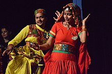 Gujarati Dance - Opening Ceremony - Wiki Conference India - CGC - Mohali 2016-08-05 6629.JPG