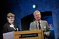 Gunnel Gustafsson direktor Nordforsk och Rolf Annerberg. TFI konferens Kopenhamn 2010-09-15.jpg