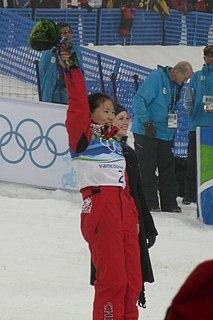 Guo Xinxin Chinese freestyle skier