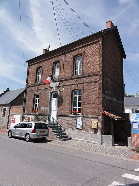 Gussignies (Nord, Fr) mairie