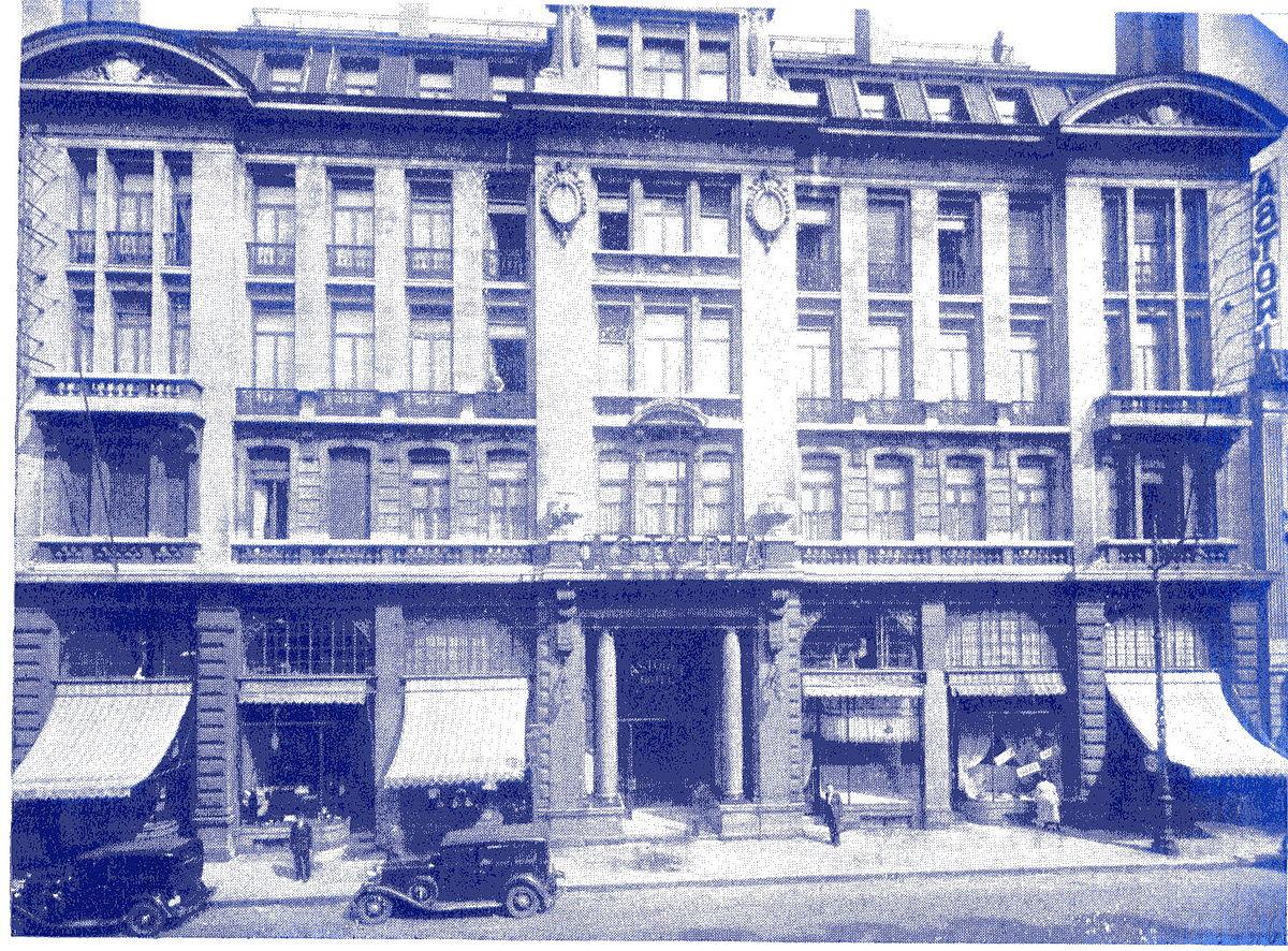 Hotel Astoria  Brussel