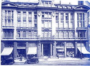 Hotel Astoria, Brussels - Hôtel Astoria, Brussels, 1910.