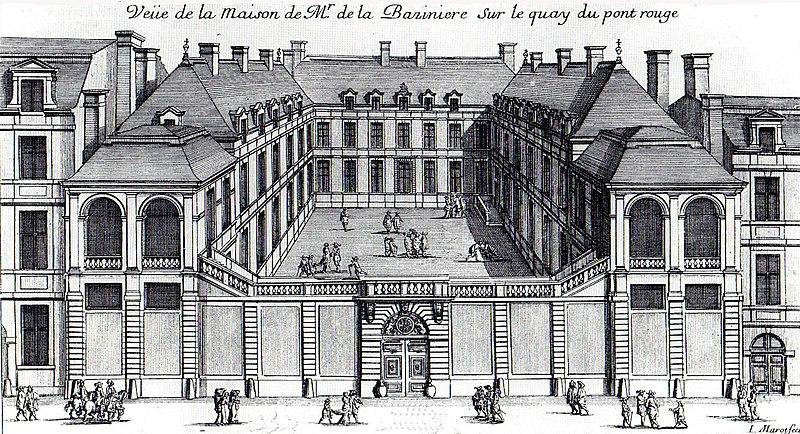 Fichier:Hôtel de La Bazinière gravée par Jean Marot vers 1658.jpg