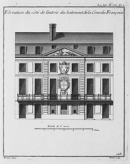Salle de la rue des Fossés-Saint-Germain-des-Prés former theatre of the Comédie-Française, 1689–1770, mostly destroyed