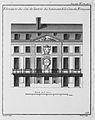 Hôtel des Comédiens du Roi - Élévation de la facade - Architecture françoise Tome2 Livre3 Ch4 Pl3 - Kyoto U.jpg