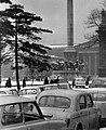 Hősök tere az Olof Palme sétány (Népstadion út) felől nézve, háttérben a Szépművészeti Múzeum. Fortepan 17052.jpg