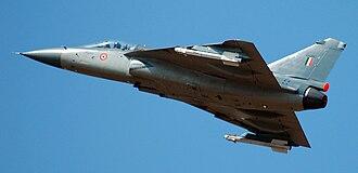 Indian Air Force Test Pilot School - HAL Tejas being flown by ASTE Pilot.