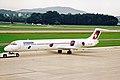 HB-IUN MD-83 Crossair ZRH 04SEP02 (8271193061).jpg
