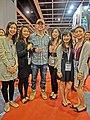 HKCEC 灣仔會展 Wan Chai 國際食品酒店餐飲設備服務展 Hofex Wine 黃秋生 Anthony Wong Chau sang May-2013.JPG