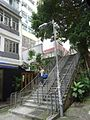 HK 上環 Sheung Wan 磅巷 Pound Lane outdoor stairs Aug 2016 DSC.jpg