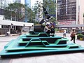 HK 灣仔北 Wan Chai North 告士打道花園 Gloucester Road Garden sculpture Dec 2018 SSG 03.jpg