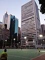 HK 灣仔 Wan Chai 修頓球場 Southorn Playground evening February 2019 SSG 01.jpg