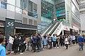 HK 觀塘 Kwun Tong 駿業街 56 Tsun Yip Street 中海日升中心 OCS Centre shop RedTea Cafe restaurant n visitors queue November 2018 IX2 02.jpg