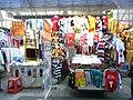 HK Mong Kok Fa Yuen Street evening cartoon children clothing stall Sept-2012.JPG