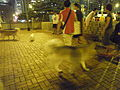 HK North Point Piers 北角碼頭 night pet garden June-2012 visitors.JPG