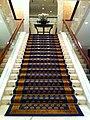 HK TST East 64 Mody Road 九龍香格里拉酒店 Kowloon Shangri-La Hotel stairs with carpet 28-Nov-2012.JPG