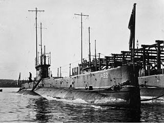 HMAS <i>AE2</i> E-class submarine of the Royal Australian Navy