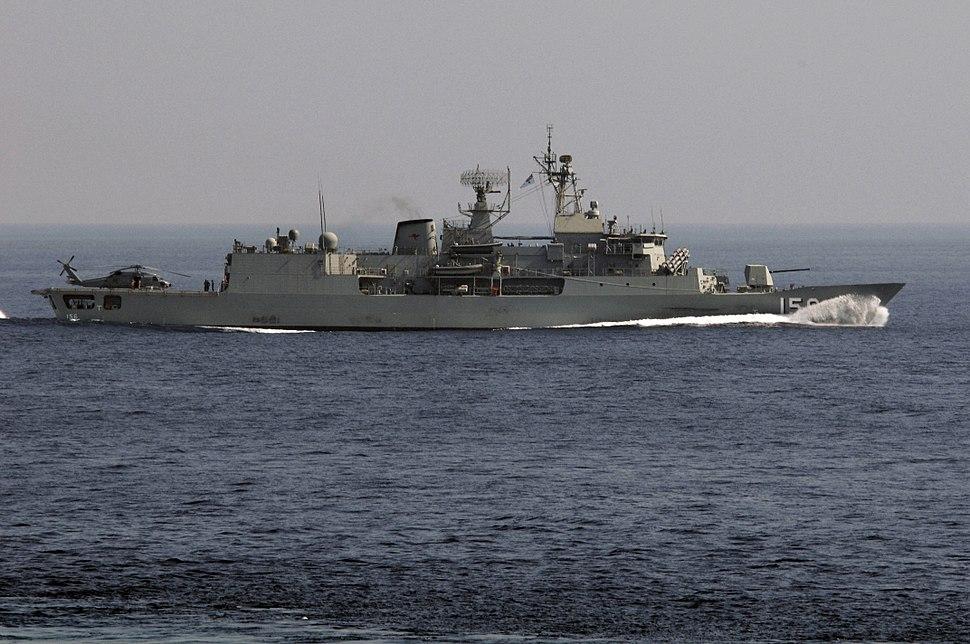 HMAS Toowoomba FFH-156 Gulf of Oman Nov 2009