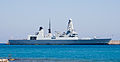 HMS Dragon air defence destroyer in Rhodes port.jpg