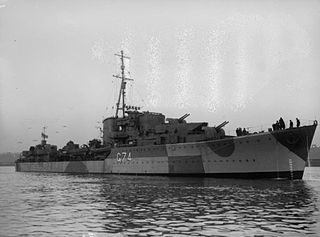 HMS <i>Legion</i> (G74) ship